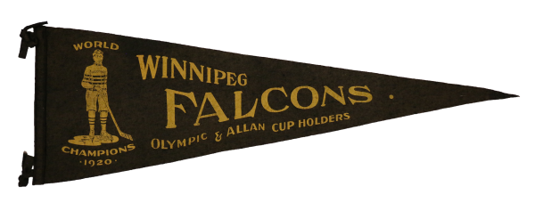 fanion des Falcons de Winnipeg