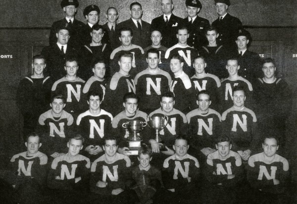 Photograph of 1944 St. Hyacinthe Donnaconas Grey Cup Champions team