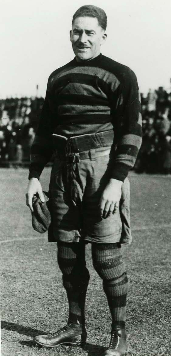photograph Frank Leadlay in football uniform