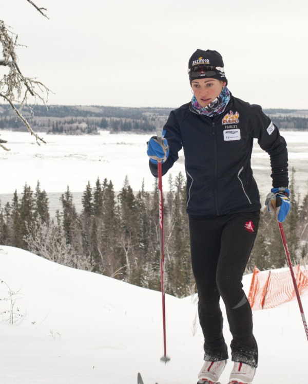 image of Sarah Daitch Cross Country Skiing