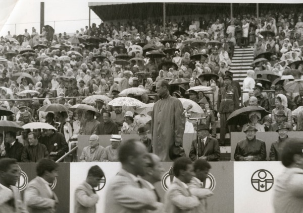 Prince Philip at opening of 1967 Pan American Games