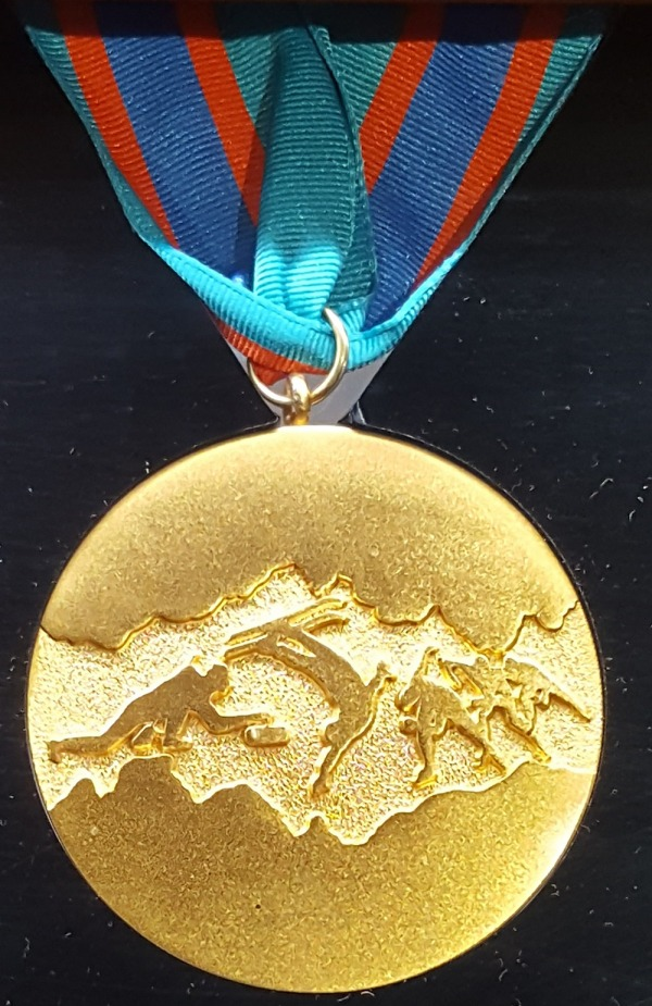 gold medal for demonstration sports 1988