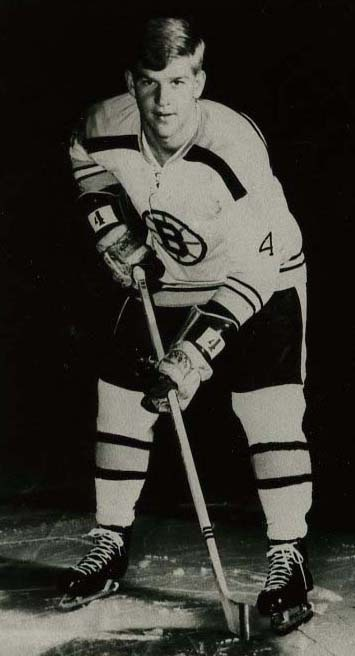photograph of Bobby Orr in team uniform