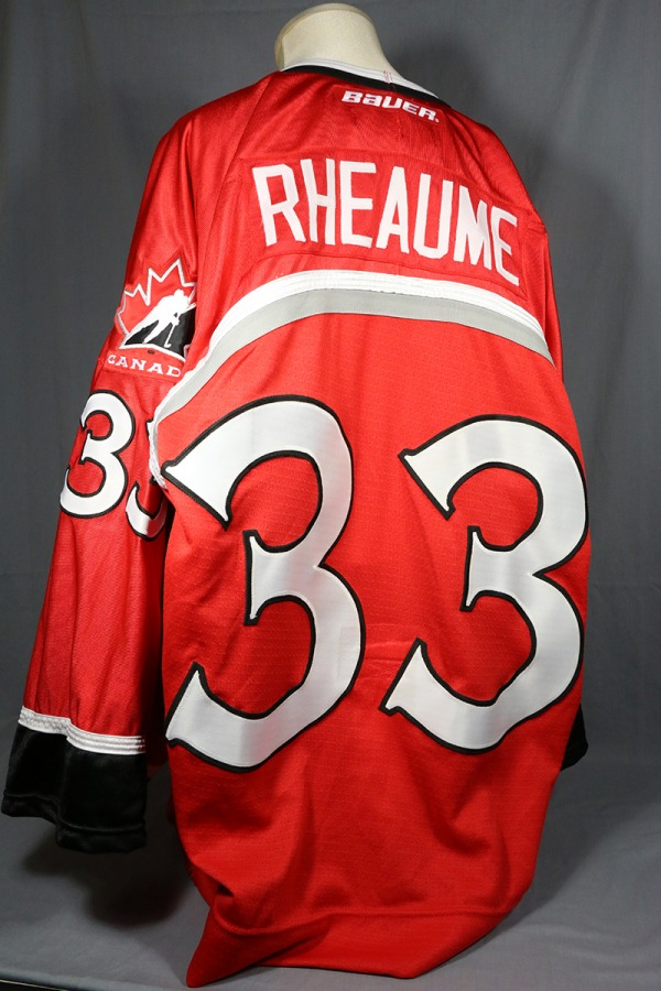 red Team Canada Jersey RHEAUME
