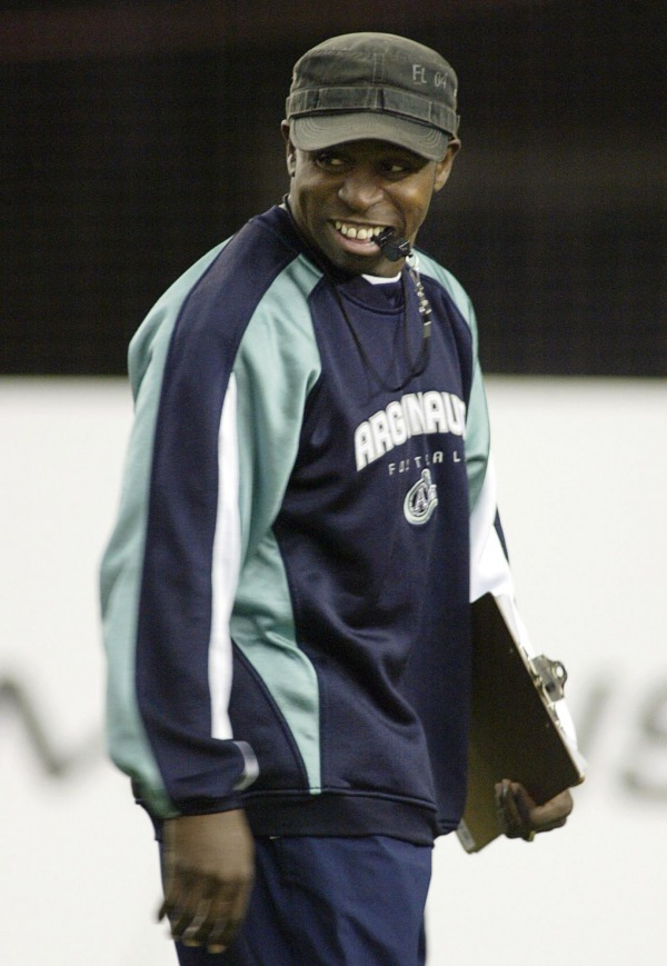 photograph of Michael Clemons as head coach