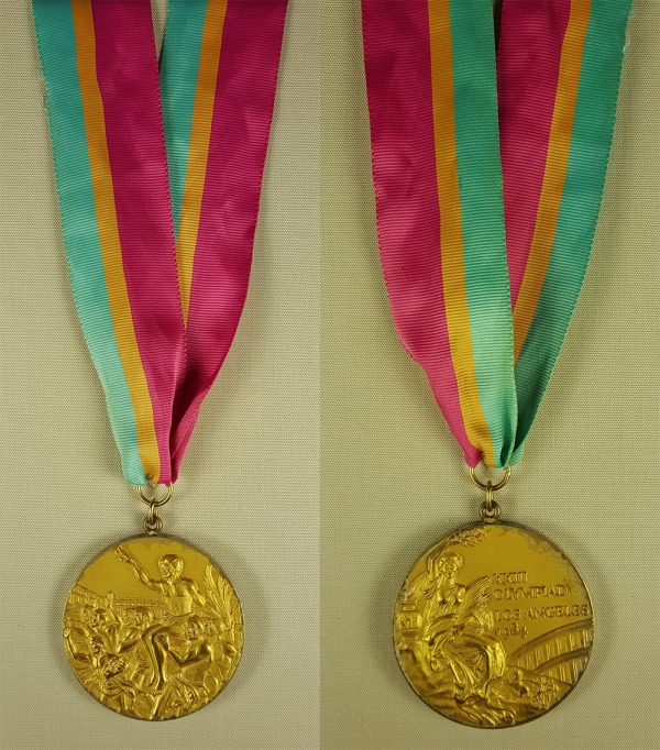 two Olympic gold medals 1984